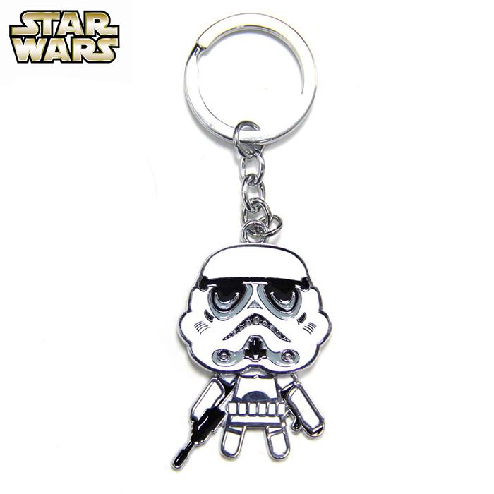 星際大戰 Star Wars 帝國白兵 Q版搖頭 鑰匙圈 吊飾