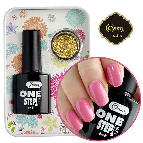 One Step亮彩膠繽紛盒裝版-牡丹粉紅#9025
