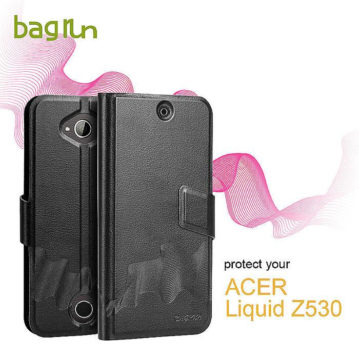 Bagrun 宏碁Acer Z530經典系列側掀式手機保護皮套