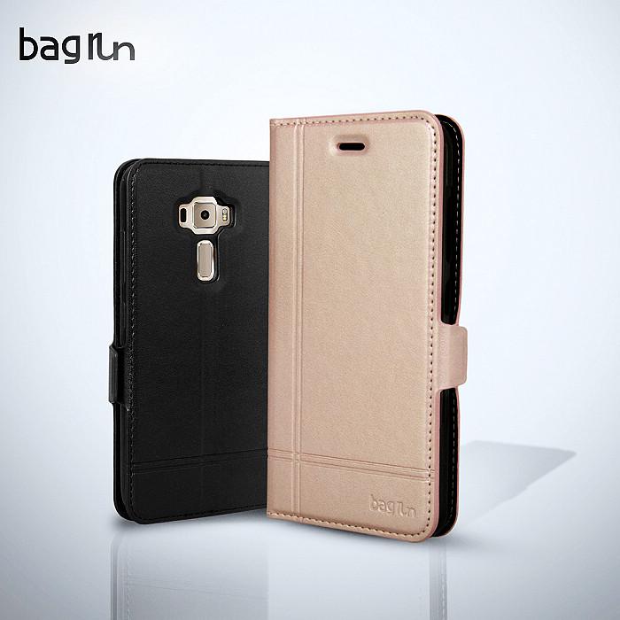 【Bagrun】 Asus Zenfone 3 5.2吋 經典手作系列手機保護皮套