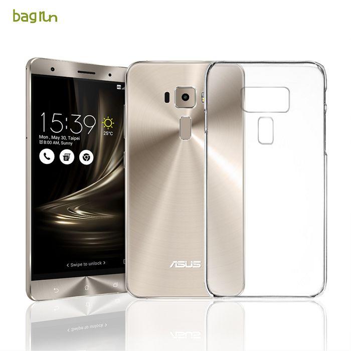 【Bagrun】Asus Zenfone 3 5.2吋日本薄透(不沾黏)TPU手機保護套