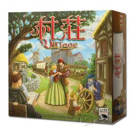 【新天鵝堡桌遊】村莊 Village
