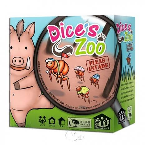 【新天鵝堡桌遊】動物骰:跳蚤擴充 Dice's Zoo: Fleas Invade-居家日用.傢俱寢具-myfone購物