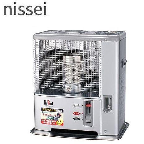 贈兩千元好禮【日本Nissei 】日本原裝進口 自然通風開放型煤油暖爐 (NC-S246RD)