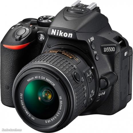 Nikon D5500 +18-55mm+55-200mm*(中文平輸)-送專用電池等