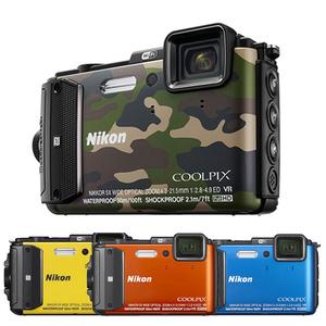 NIKON AW130 防水防震數位相機(中文平輸)送副電+相機包等