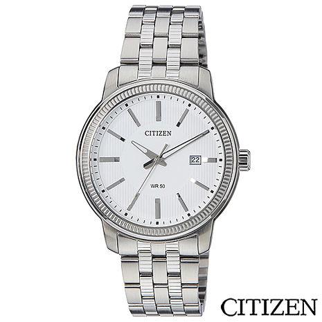 CITIZEN星辰 商務款日期視窗腕錶 BI1080-55A