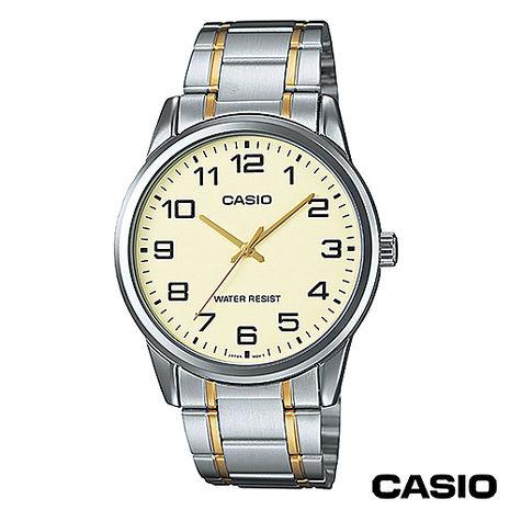 CASIO卡西歐 指針系列英倫時尚男錶MTP-V001SG-9B