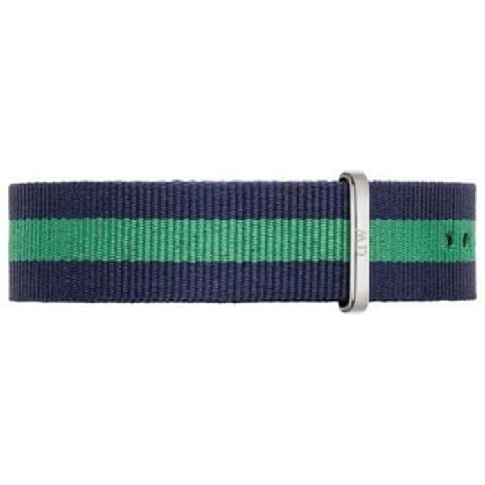 DW Daniel Wellington 藍綠帆布錶帶/20mm0405DW-服飾‧鞋包‧內著‧手錶-myfone購物