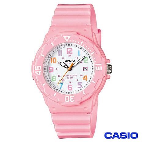 【CASIO卡西歐】潛水概念女性運動風格腕錶 LRW-200H-4B2