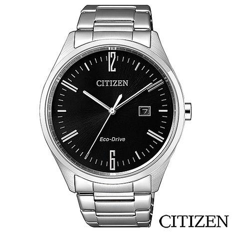 CITIZEN Eco-Drive英倫情人光動能男仕手錶 BM7350-86E