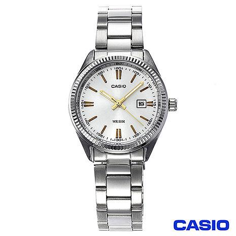 CASIO 卡西歐 典雅婉約不鏽鋼錶帶女仕腕錶 LTP-1302D-7A2