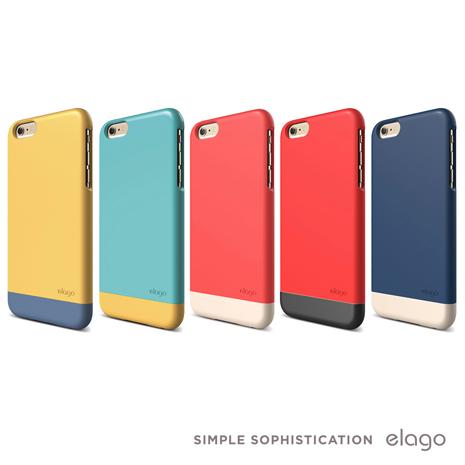 Elago Glide iPhone 6 Plus 5.5吋 時尚滑扣式彩殼