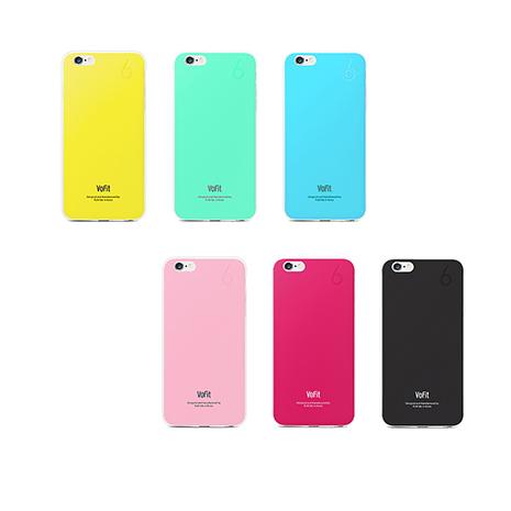 VoFit iphone 6/6S 4.7吋 精品馬卡龍保護殼土耳其藍