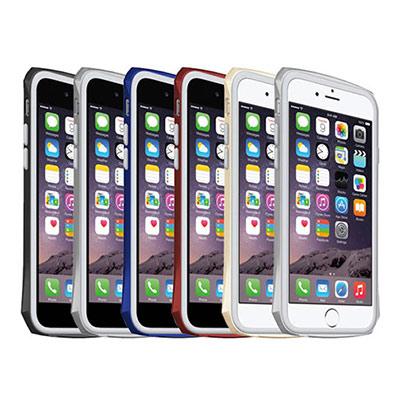 SEIDIO TETRA Pro 極簡金屬邊框雙層保護殼 iPhone 6科技藍
