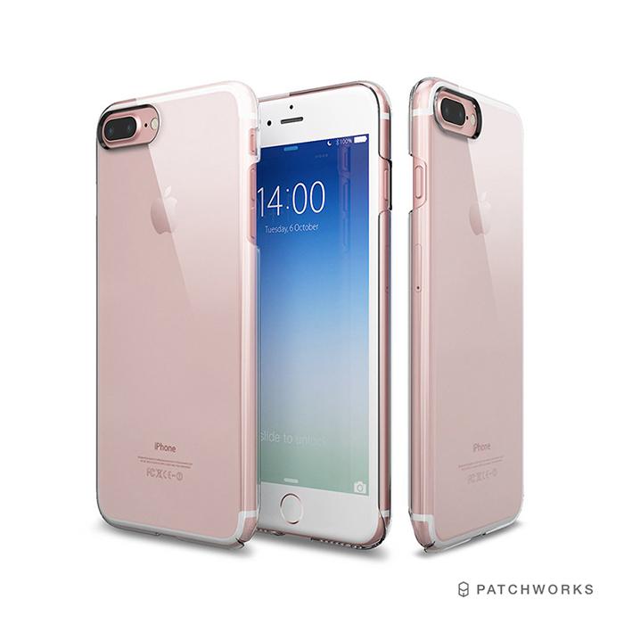 Patchworks iPhone 7 Plus 玄武全包覆式透明手機硬殼