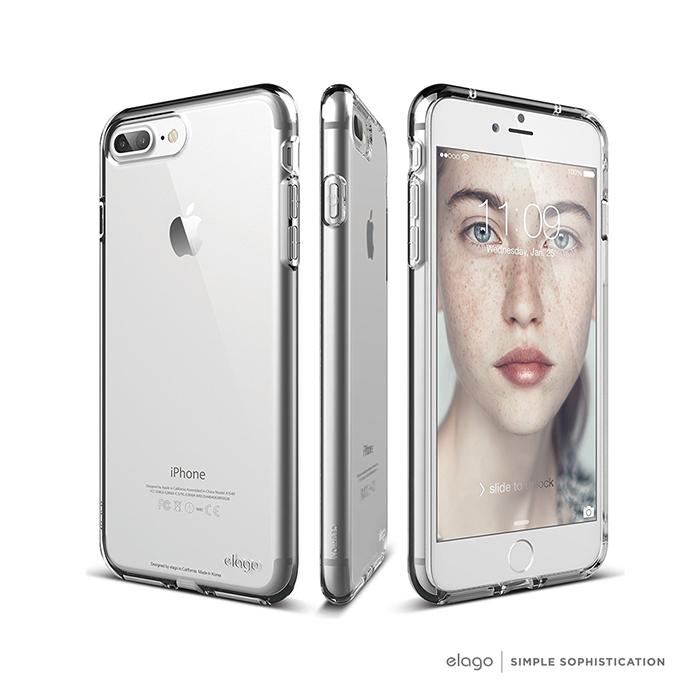 elago iPhone 7 plus 極致透明手機保護軟殼