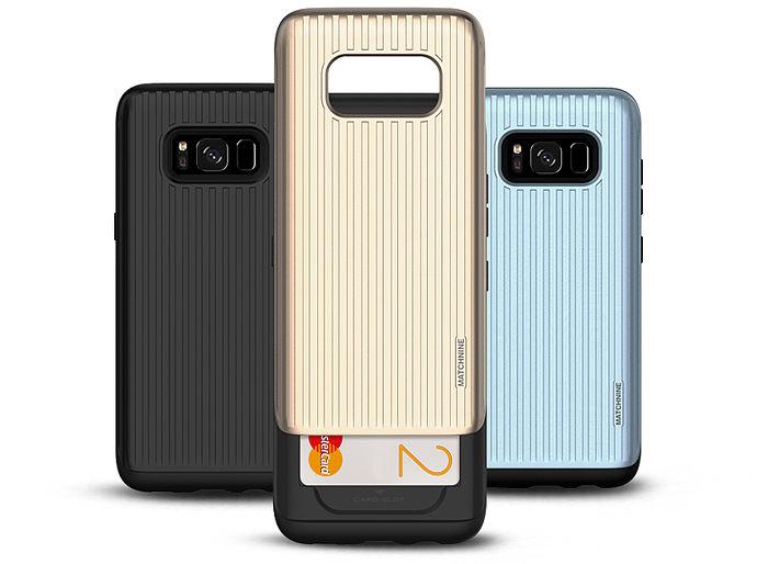 Matchnine Samsung S8 Plus雙層全包覆旅行手機防摔殼