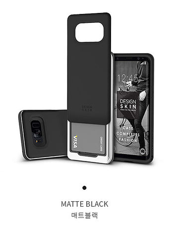 DesignSkin Samsung S8 Plus 極簡機能插卡式手機防摔殼
