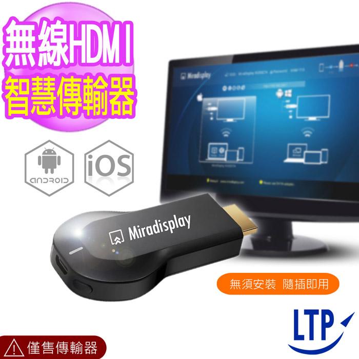 【LTP】終極版Miracast 螢幕鏡射無線傳輸器YouTube 支援版(加送充電器)