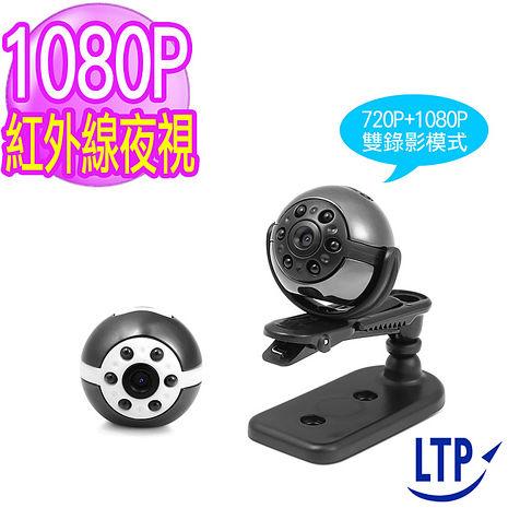 【LTP-歡樂送】(送充電器)電眼360度旋轉6顆紅外線迷你微型攝影機