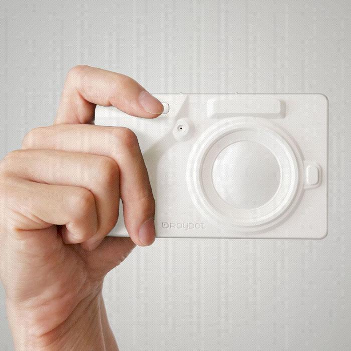 [LOMO 相機] RayDot 相機筆記本 白