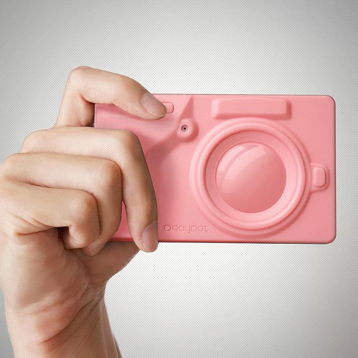 [LOMO 相機] RayDot 相機筆記本 粉紅