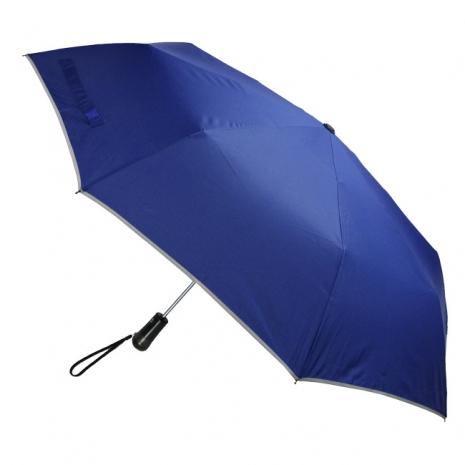 (特賣)【2mm】LED極光安心自動開收傘(寶藍)