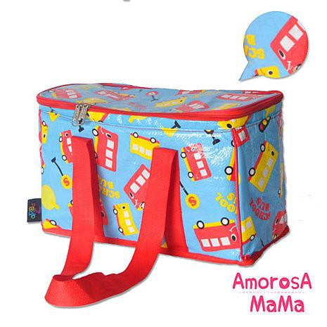 【Amorosa Mama】多用手提式保冷保溫袋/野餐包/保鮮袋 (巴士)