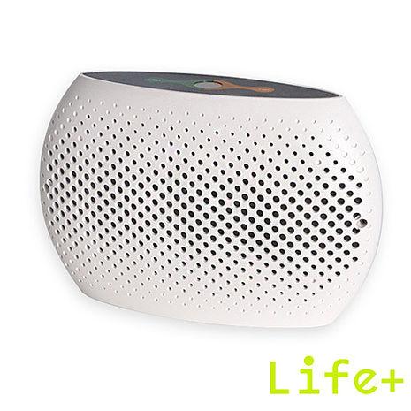 【Life Plus】衣櫥/書櫃/鞋櫃 無線防潮除濕機 (白色)