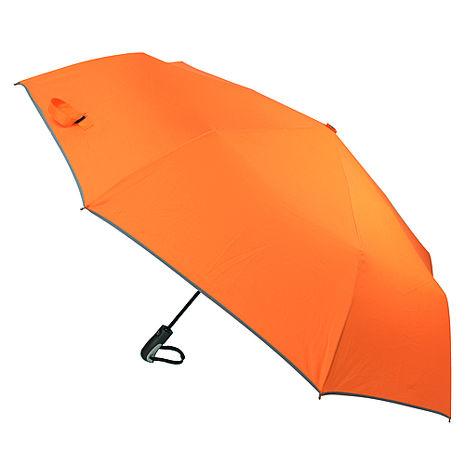 (特賣)【2mm】超大運動型男超大傘面自動開收傘(金橘橙)