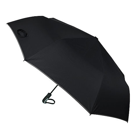 (特賣)【2mm】超大運動型男超大傘面自動開收傘(恐怖黑)