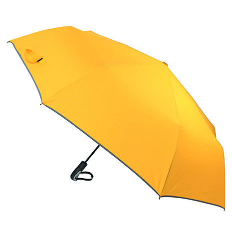 (特賣)【2mm】超大運動型男超大傘面自動開收傘(香蕉黃)