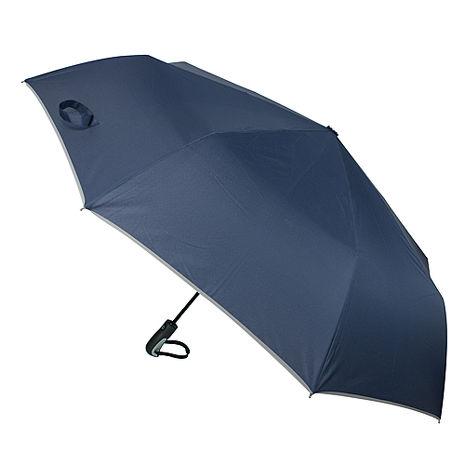 (特賣)【2mm】超大運動型男超大傘面自動開收傘(深藍)