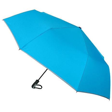 (特賣)【2mm】超大運動型男超大傘面自動開收傘(海藍)