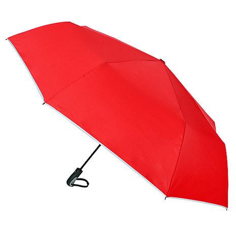 (特賣)【2mm】超大運動型男超大傘面自動開收傘(紅色)