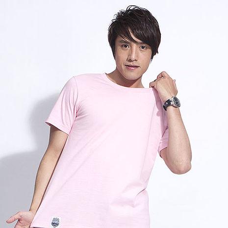 【SHAPA】素色短TEE_男_粉-服飾‧鞋包‧內著‧手錶-myfone購物