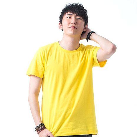 【SHAPA】素色短TEE_男_黃【預購】-服飾‧鞋包‧內著‧手錶-myfone購物