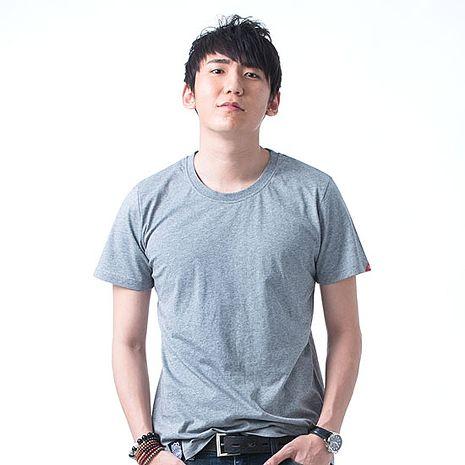 【SHAPA】素色短TEE_男_深麻灰-服飾‧鞋包‧內著‧手錶-myfone購物