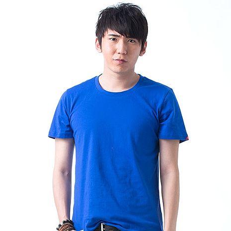 【SHAPA】素色短TEE_男_寶藍