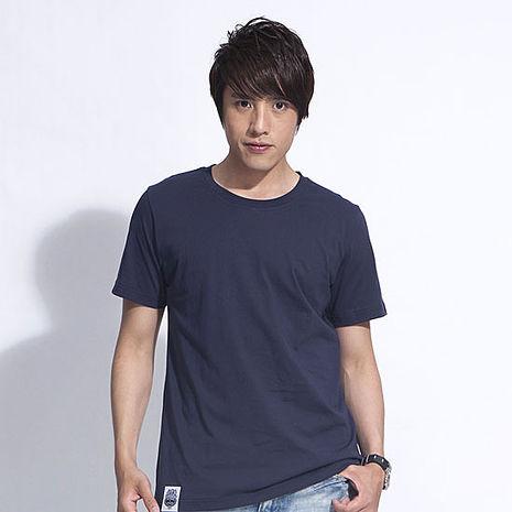 【SHAPA】素色短TEE_男_深藍-服飾‧鞋包‧內著‧手錶-myfone購物