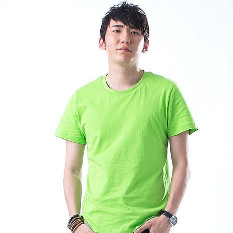 【SHAPA】素色短TEE_男_蘋果綠【預購】-服飾‧鞋包‧內著‧手錶-myfone購物
