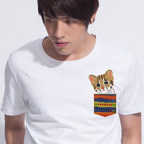 【SHAPA】純棉短袖圖TEE_拯救石虎