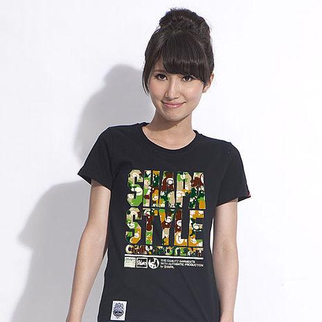 【SHAPA】原創純棉短袖圖T_熊熊迷彩-服飾‧鞋包‧內著‧手錶-myfone購物