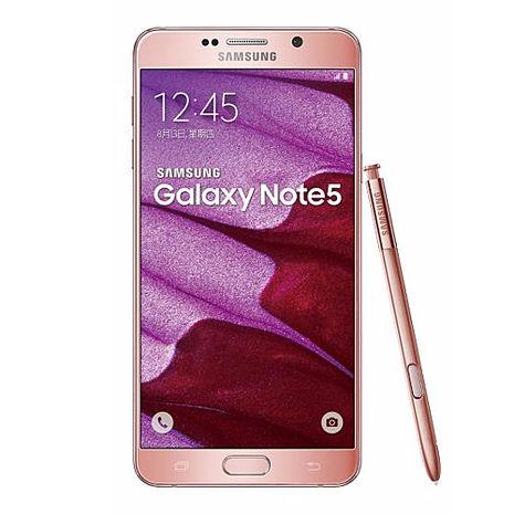 Samsung Galaxy NOTE 5 瑰鉑粉N9208 旗艦機皇 64G版(贈送玻璃保貼+觸控筆)-智慧手機‧平板-myfone購物
