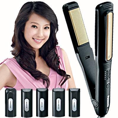 【Panasonic國際牌】 EH-HW58 /EHHW58光觸媒 直髮 捲髮器6配件(贈史努比湯杯)