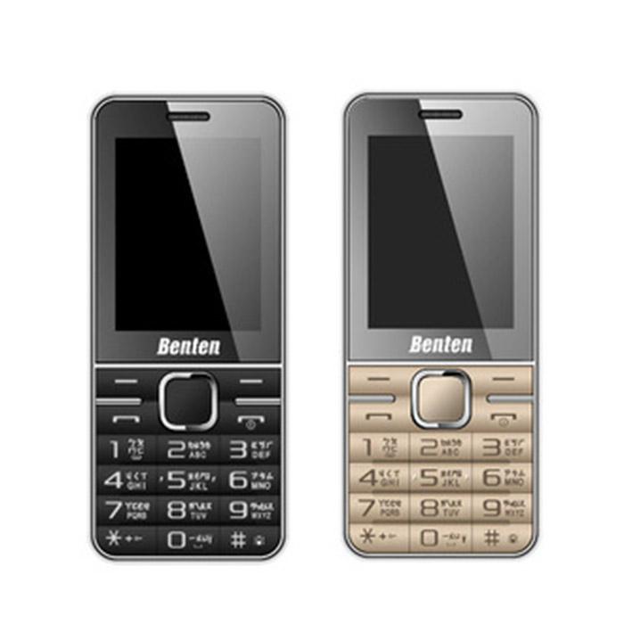BENTEN W168 3G 直立式/無相機/無記憶卡/軍人機/可換電池黑色