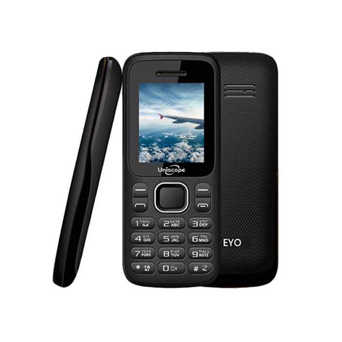 Uniscope 優思 W108s 超長待機3G無照相科技園區/軍人機公司貨 (黑色)