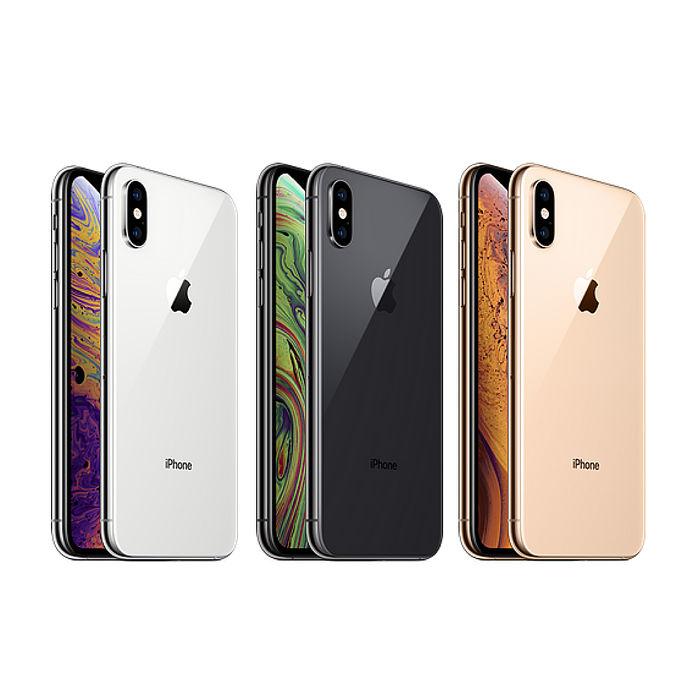 蘋果 Apple iPhone XS 64GB 5.8吋全螢幕臉部辨識智慧型手機