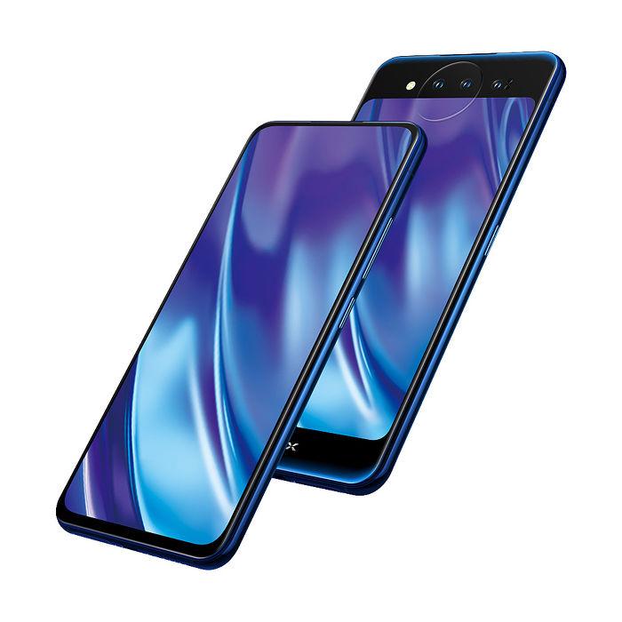 VIVO NEX 10G/128G 雙螢幕三攝鏡頭隱形指紋旗艦手機冰原藍